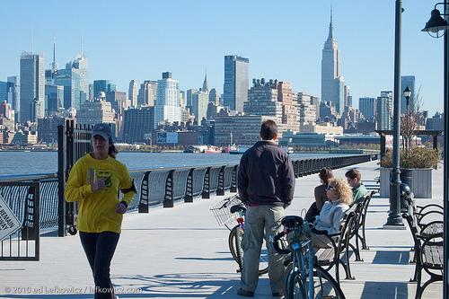 Manhattan, from Hoboken, NJ