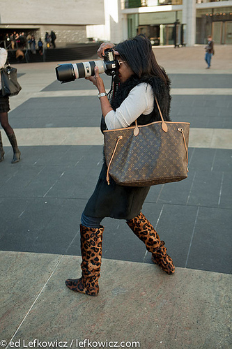 Best-dressed female photographer