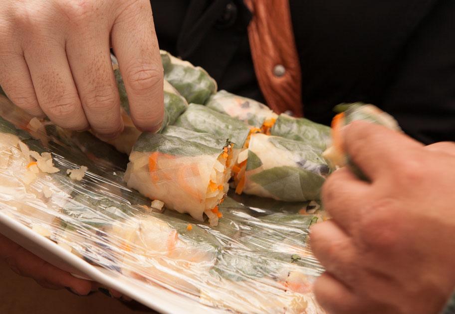 Vietnamese summer rolls from Saigon Vietnamese Sandwich