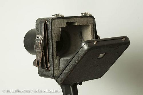 Rear view of a Jacobson sound blimp