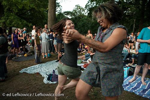 Dancers at Celebrate Brooklyn