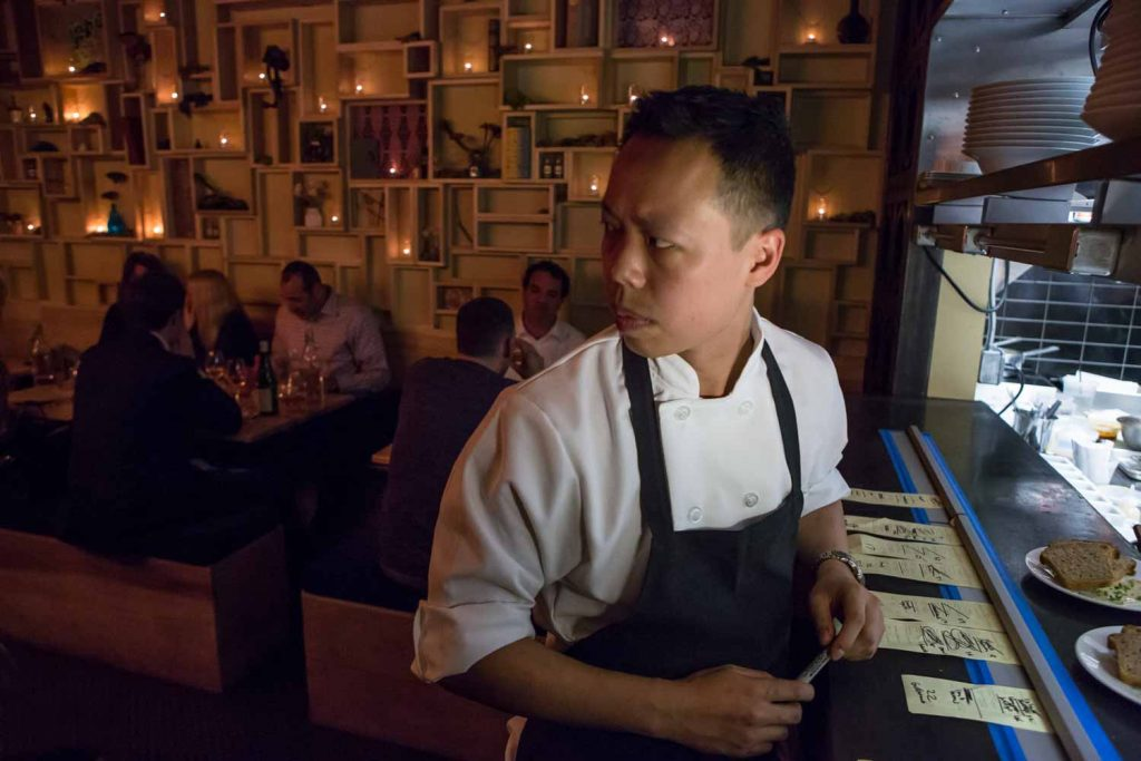 Chef Richard Kuo of Pearl & Ash.