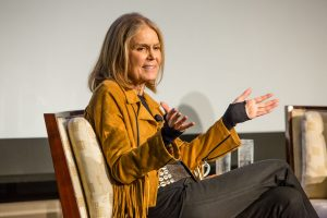 Gloria Steinem at the 2016 Robert F. Toigo Foundation