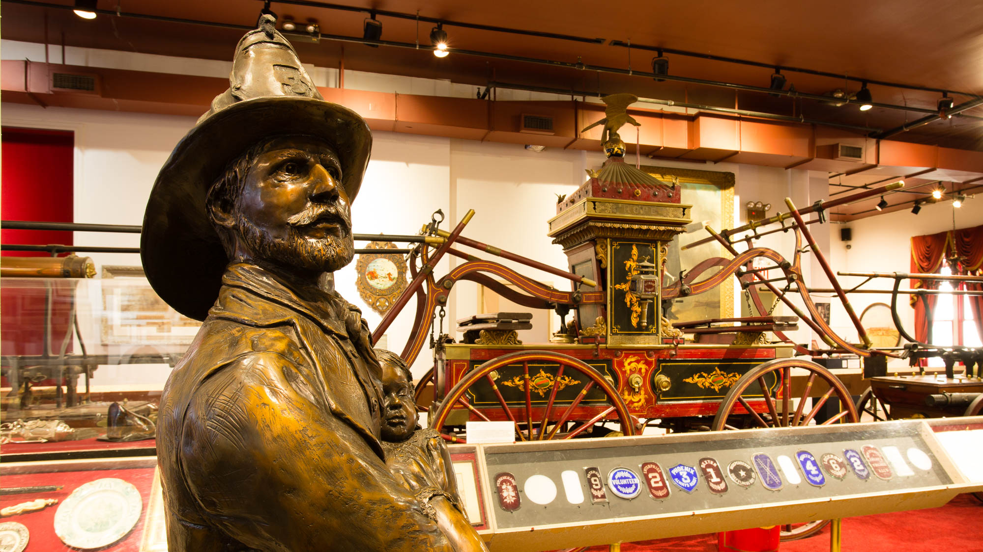 Inside the New York City Fire Museum