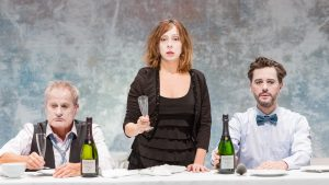 Scene from Emanuel Demarcy-Moyta's Ionesco Suite at BAM