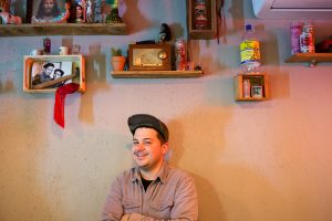 J R Savage, Gordo's Cantina, photographed for Edible Queens magazine.
