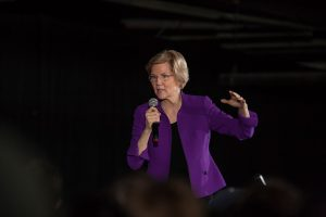 Massachusetts Senator and Democratic Presidential candidate Elizabeth Warren, Long Island City. Photographed for Alamy News.