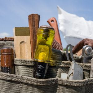 Ship carpenter's toolbag