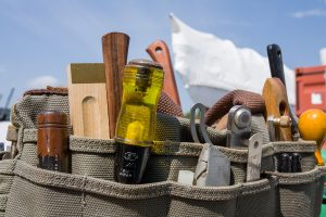 A boatbuilder's tools, North Kingstown, RI.