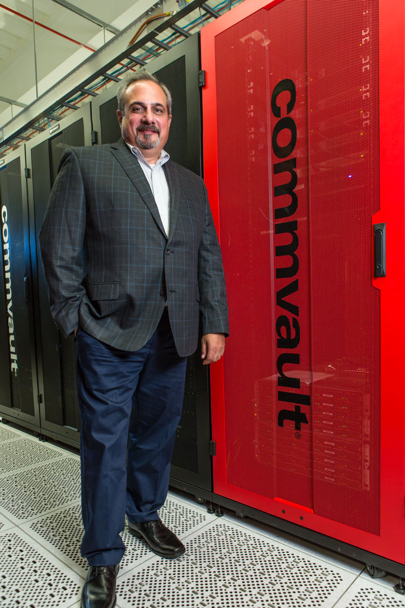 Joe Ilvento, CLO, and director of Talent Development at Commvault, photgoraphed fro Chief Learning Officer magazine.